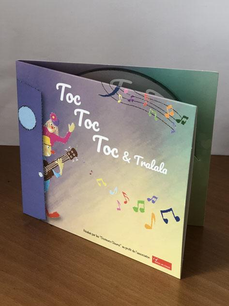 CD musical Toc toc toc et tralala
