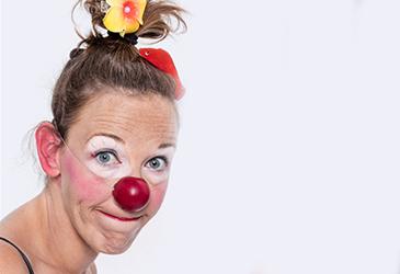 Portrait docteur clown Lucette